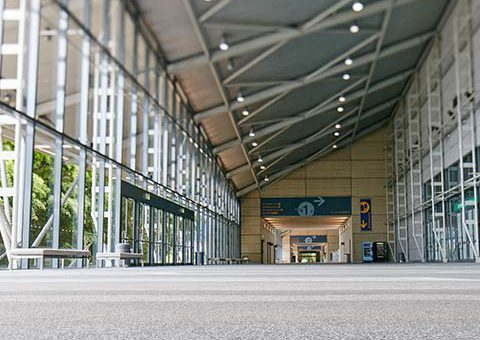 BCEC ex hall concourse