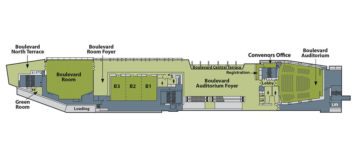 boulevard level floor plan