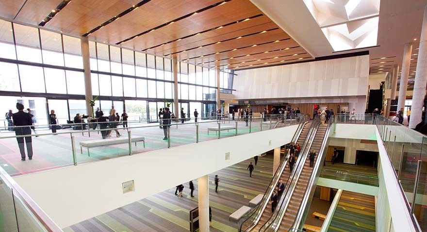 Plaza Auditorium & Foyer Atrium