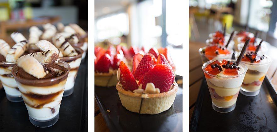 OLIO trio of desserts