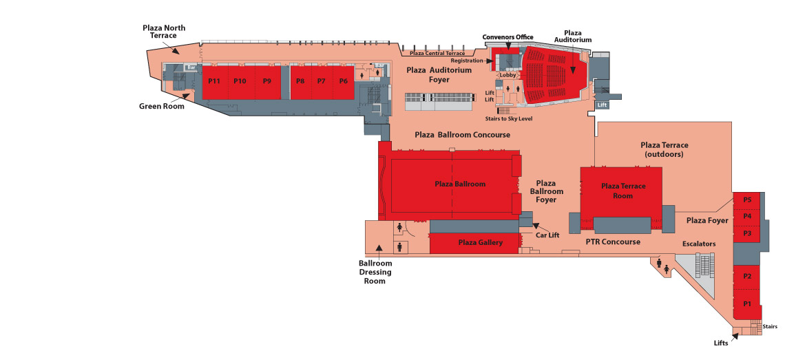 plaza level floor plan
