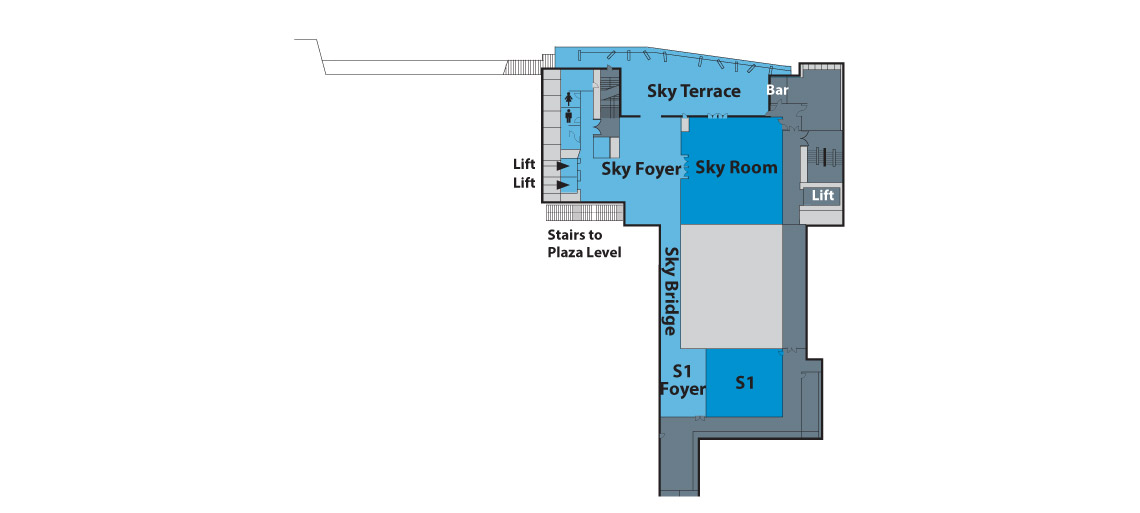 sky level floor plan