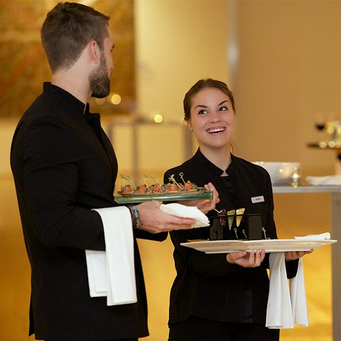 BCEC service food and beverage staff image