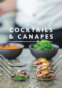 cocktails and canapes front cover