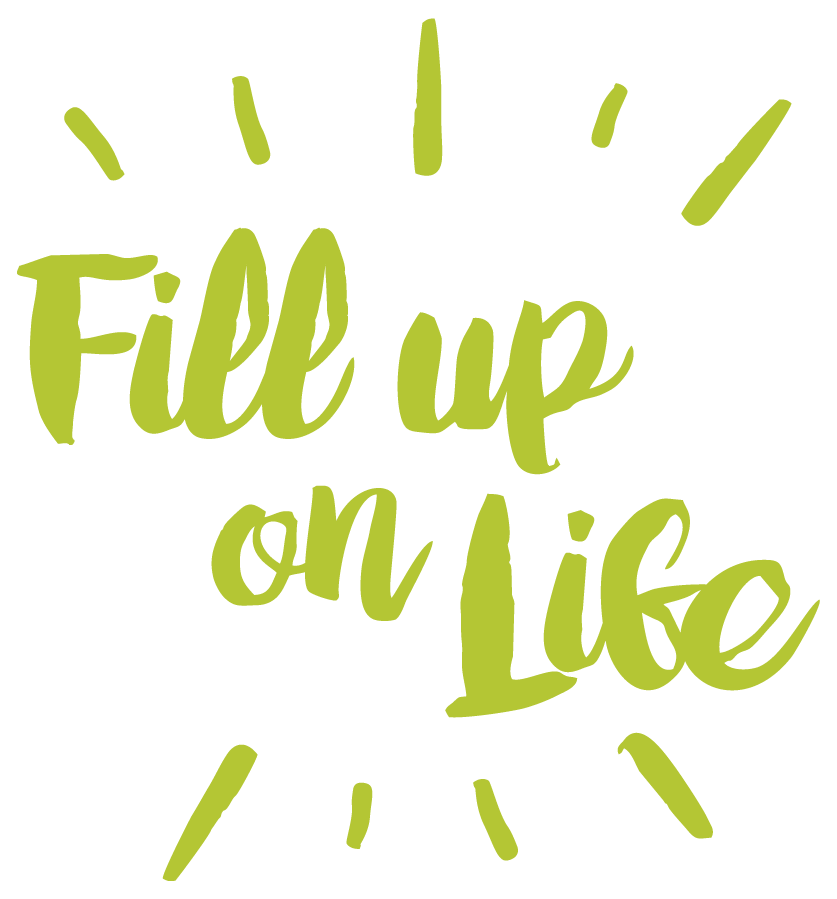 fill up on life logo
