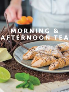 morning tea and afternoon tea front cover