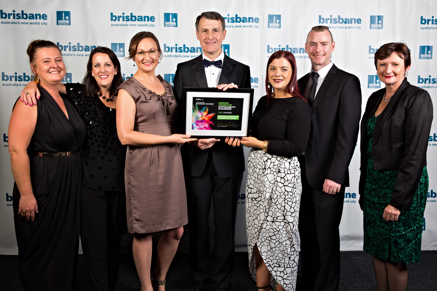 BCEC acceptance of Lord Mayors business award