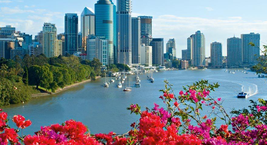 Brisbane River & City
