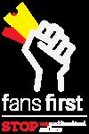 fans first logo