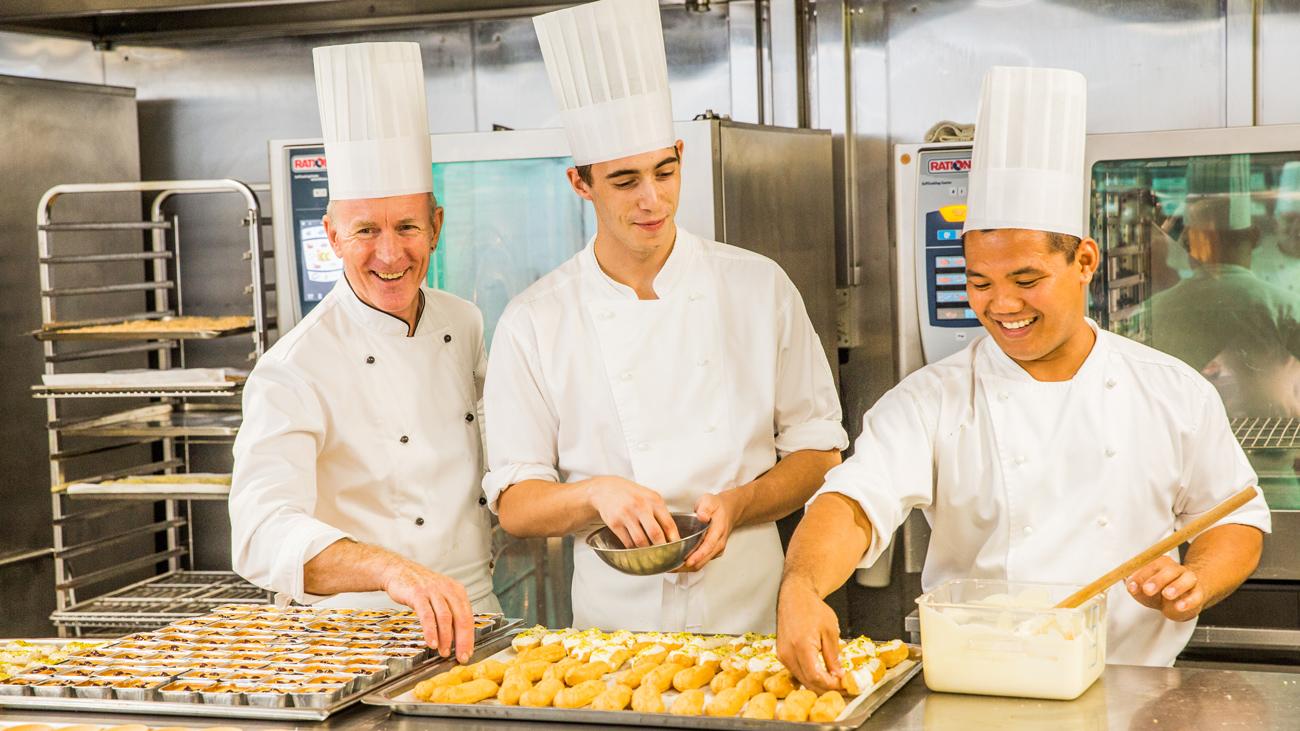 BCEC pastry chefs