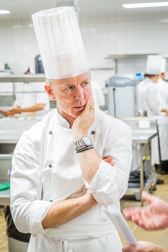 BCEC chef david pugh