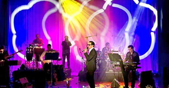 Plaza Auditorium concert Omid Soltani
