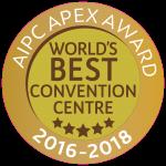 AIPC Awards Sticker: World's Best Convention Centre