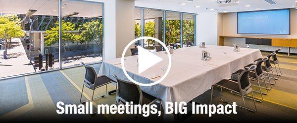 Small Meetings big impact