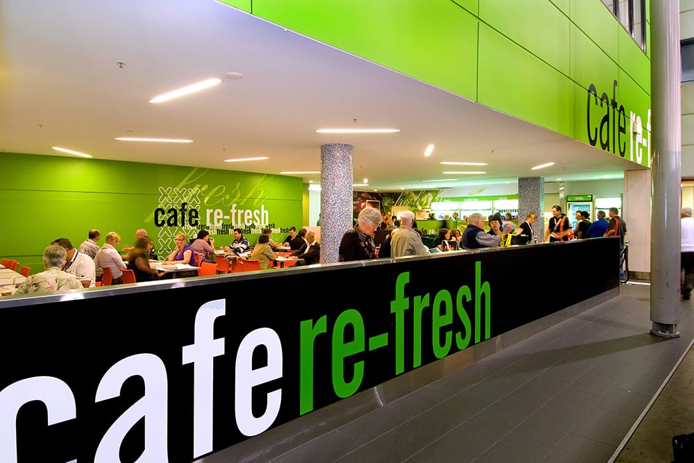 Cafe re-fresh