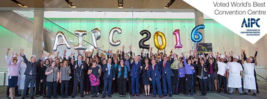 AIPC BCEC staff celebrating