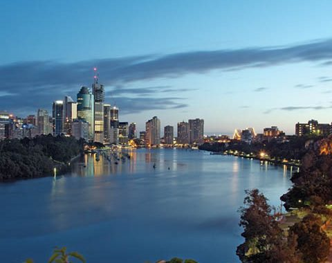 Brisbane river image
