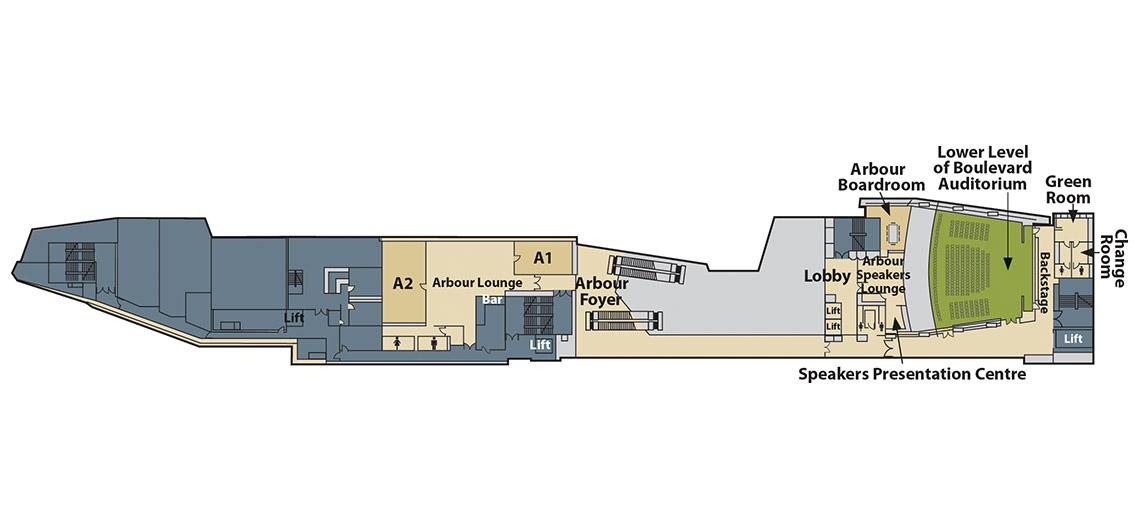 arbour level floor plan