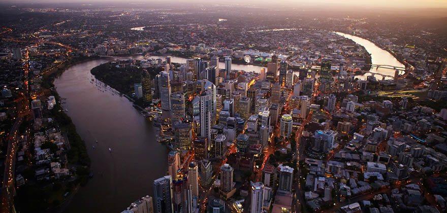 Brisbane City Evening