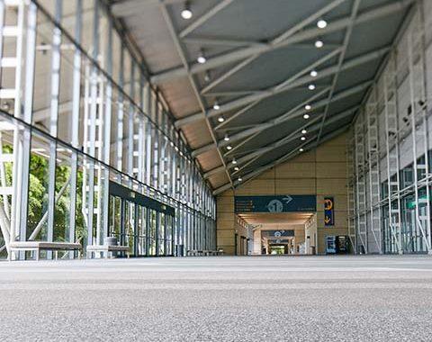 BCEC ex hall concourse