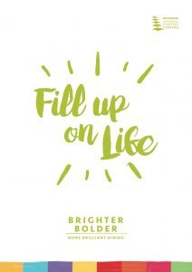 fill up on life front cover